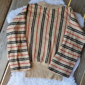 Vintage 70s Dalton Striped Wool Sweater